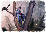 Assassins Creed III - Connor by Arlequinne