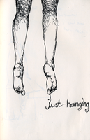 just hanging. by rainbowlullaby