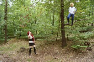Hey, Kushina (Naruto Cosplay) by Stray-Cat-Yoru