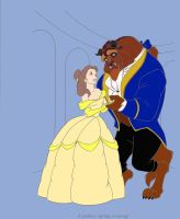 Belle and The Beast by Supremechaos918