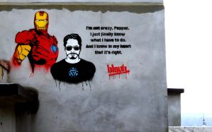 Iron Man by TheArtofBlouh