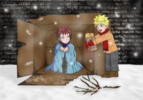 not alone in xmas 'part one' by lavender100