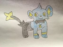 Me as a Shinx by Car-lover33