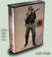 :case:Half-Life 2: DOD Source by foxgguy2001