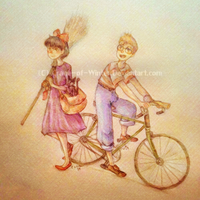 .Kiki And Tombo. by Crane-of-Winter