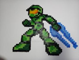Master Chief  Perler by AefeN53