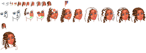 Pixel Faces WIP-need critique by ToshioMagic