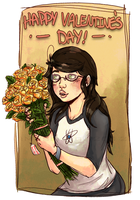 Jade: Receive Flowers by iMuseling