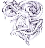 She's floating... by prettyflour