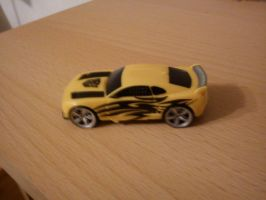 Bumblebee Camaro Car mode by Isajoi