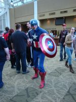 captain america avengers ECCC by goblincreations