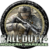 COD 4 Dock Icon 1 by WarrioTOX