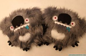 Drooling Drop Bears by loveandasandwich