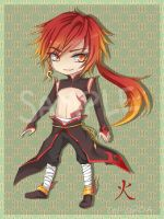 [Auction] Fire Chibi Adoptable CLOSED by Cel-C
