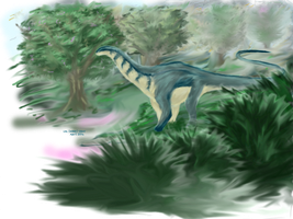 30 Day Dino Challenge: Apatosaurus by WhiskerfaceRumpel