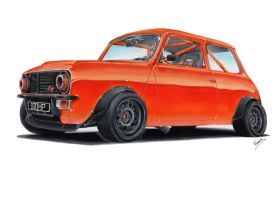 Mini 1275 GT by vsdesign69