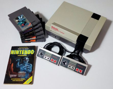 The Nintendo Entertainment System. by GrimShady