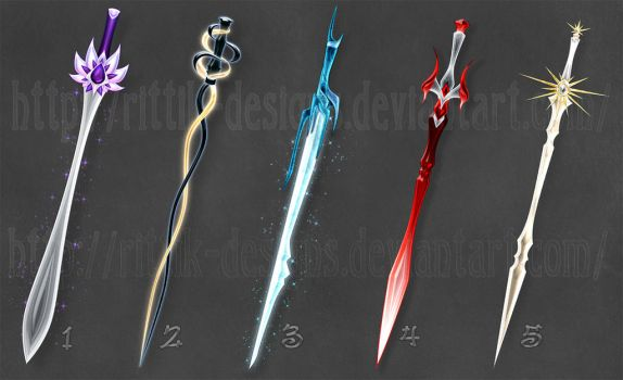 Swords adopts 5 (CLOSED) by Rittik-Designs