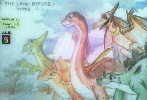 THE LAND BEFORE TIME: New Generation by SammfeatBlueheart
