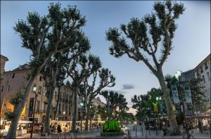 Aix by night by LiveInPix