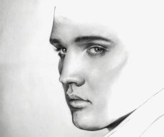 Elvis Presley sneak peek 5 by LucaTedde