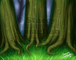 Forest Edge by ShadeySix