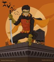 Fan Art Friday: Damian Wayne by bredenius