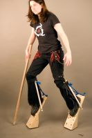 Digitigrade Stilts by orasa