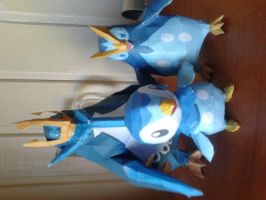 piplup prinplup y empoleon xd by shoutmon11