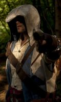 Bang! Connor Kenway by eyes1138