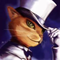 Baron - The Cat Returns by Professor-Irony