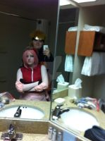 hangin out in the bathroom by CosplayCrazyProducti