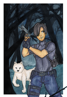 Leon S. Kennedy by TheDutchesse