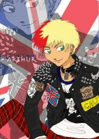 -APH- Punk England by OrangeTablet