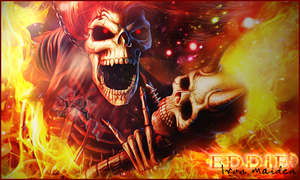 Signature Iron Maiden Skeleton by Ellanna-Graph
