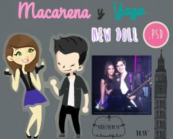 Macarena Y Yago Doll by AbbeyDenith