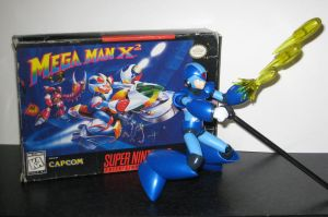 -X Cover Shoot - MegaMan X2 by Nin10doNerd