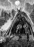 Batman.grim Rain by bek76