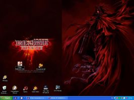 My desktop by DRagonka