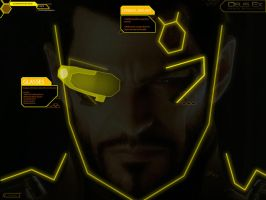 Deus Ex HR Wallpaper by Pateytos