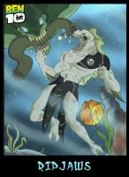 Ben 10 RipJaws pinup by JazylH