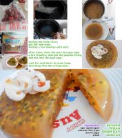 Vegan passion fruit JELLY recipe by Doll1988