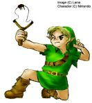 Link and Fairy Slingshot color by lania