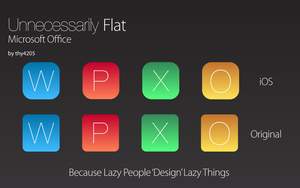 Unnecessarily Flat - Office by thy4205
