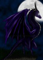 ..:: Dragon Violet ::.. by Dark-Skadia