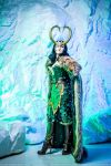 Lady Loki - ice and snow by NemoZoe