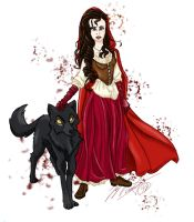 Red Riding Hood by vampire-L