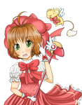 Contest Entry Fight like a girl: Sakura CardCaptor by Mokyu-Mokyu