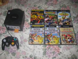 My GameCube and games by T95Master
