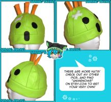 Final Fantasy Cactuar Hat by AnimeNomNoms
